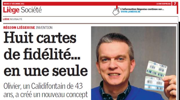 Carte 1010 - Dans la presse Belge - Décembre 2011